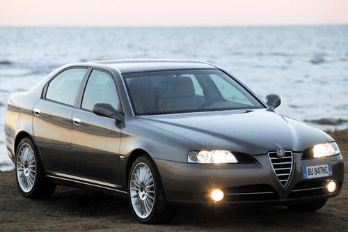 alfa romeo 166 european sales figures