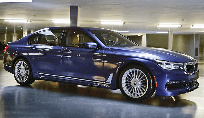 Alpina European Sales Figures