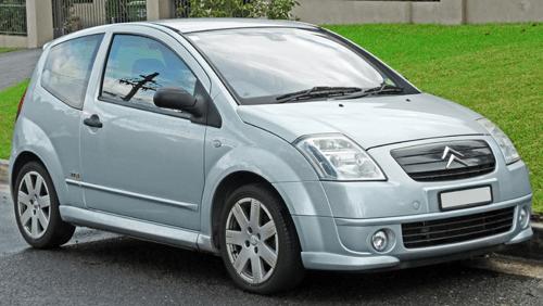 Citroën C2 European sales figures