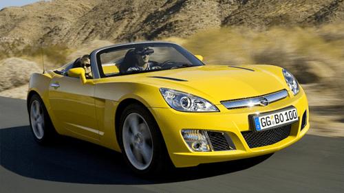 Opel GT Auto Sales Statistics Europe