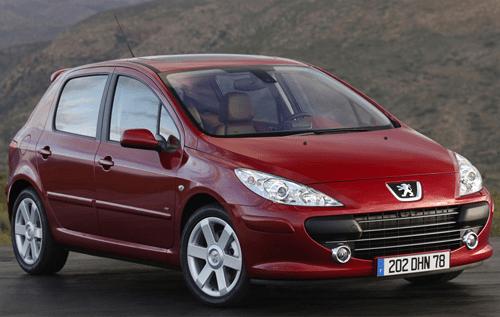 Peugeot 307 European sales figures