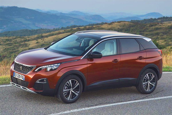 Peugeot 3008 European sales figures