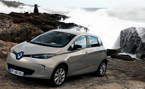 Renault Zoe European Sales Figures