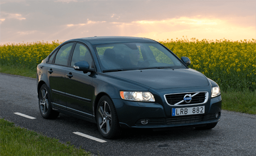 Volvo S40 and V40 European sales figures