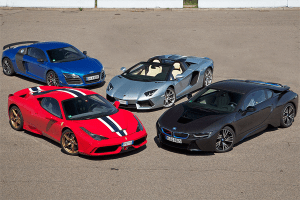 European-car-sales-statistics-exotic_car-segment-2014-BMW_i8-Ferrari_458_Italia-Audi_R8-Lamborghini_Aventador
