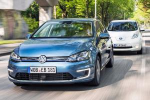 Volkswagen-e_Golf-Nissan_Leaf-EV-sales-Europe