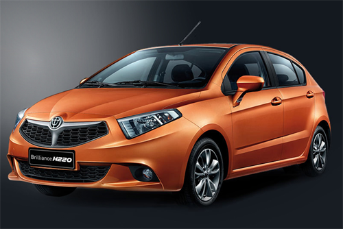Auto-sales-statistics-China-Brilliance_H220-hatchback