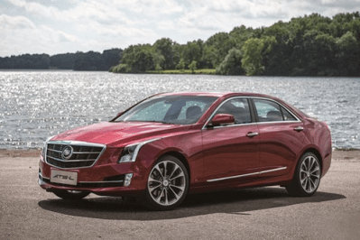 Auto-sales-statistics-China-Cadillac_ATS_L-sedan