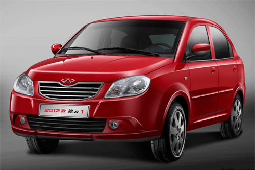 Chery Cowin 1 China Auto Sales Figures