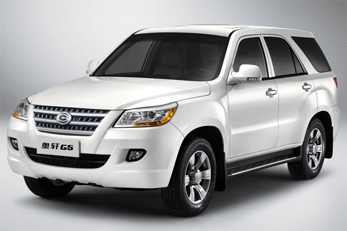 Auto-sales-statistics-China-Gonow_Aoosed_G5-SUV