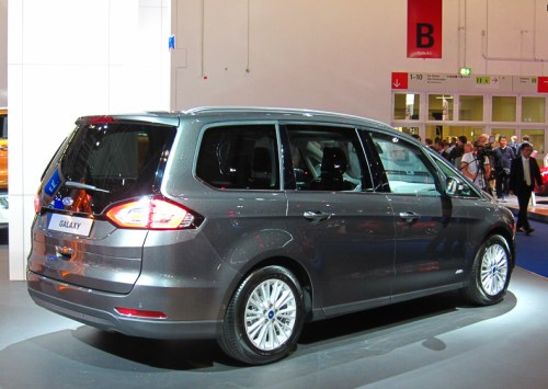 Ford Galaxy rear