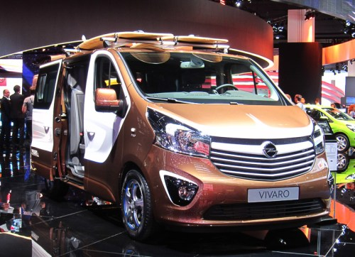 Opel Vivaro Surf Edition