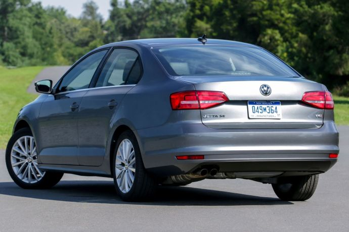 VW Jetta rear