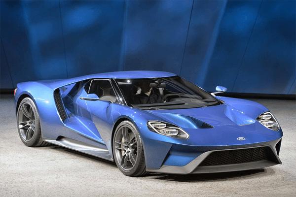 Ford GT US car sales figures