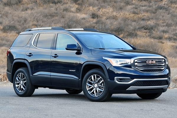 GMC_Acadia-2017-US-car-sales-statistics