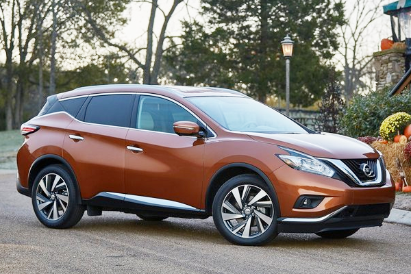 Nissan Murano US car sales figures