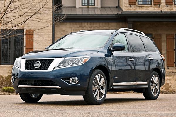 Nissan Pathfinder US car sales figures