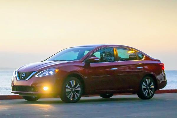 Nissan Sentra US car sales figures