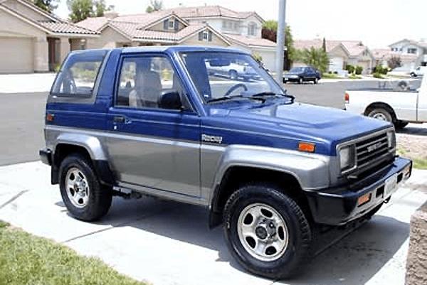Daihatsu Rocky US Car Sales Figures