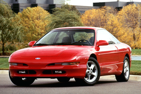 Ford Probe US Car Sales Figures