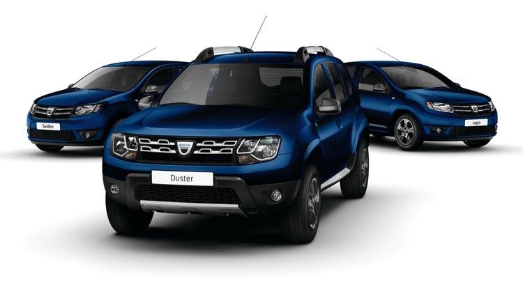 Dacia lineup