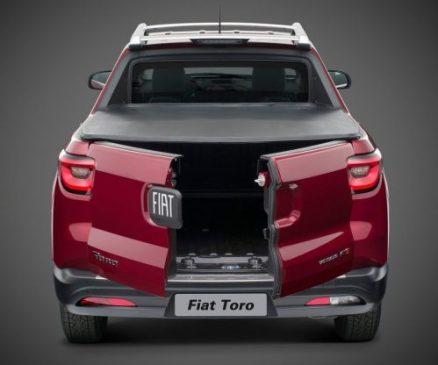 Fiat Toro pick-up cargo bed