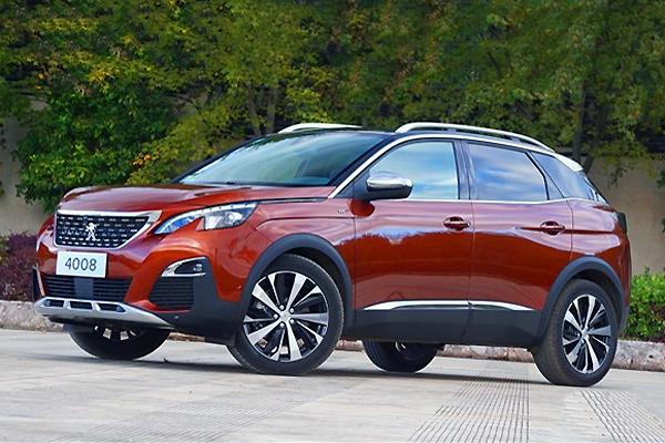 Peugeot 4008 China auto sales figures