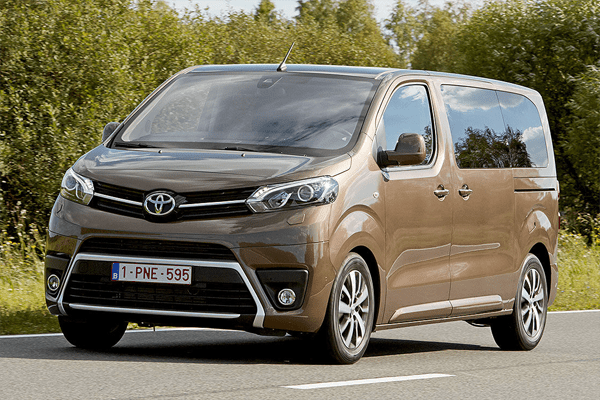 Auto Sales Europe Data: Toyota Proace Verso European Sales Figures