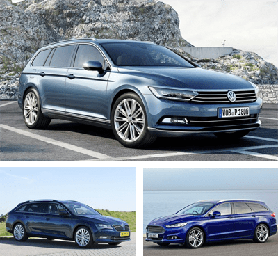 Midsized_car-segment-European-sales-2017_Q1-Volkswagen_Passat-Skoda_Superb-Ford_Mondeo