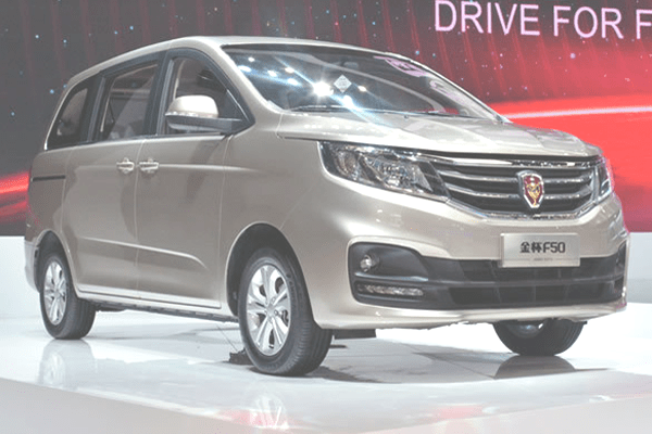 Jinbei F50 China Auto Sales Figures