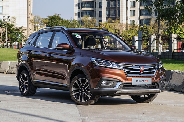 Roewe RX3 China Auto Sales Figures