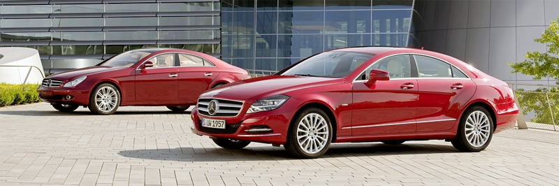 Mercedes_Benz_CLS-first-second-generations