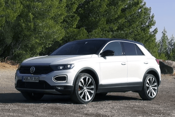 Volkswagen T-Roc European Sales Figures