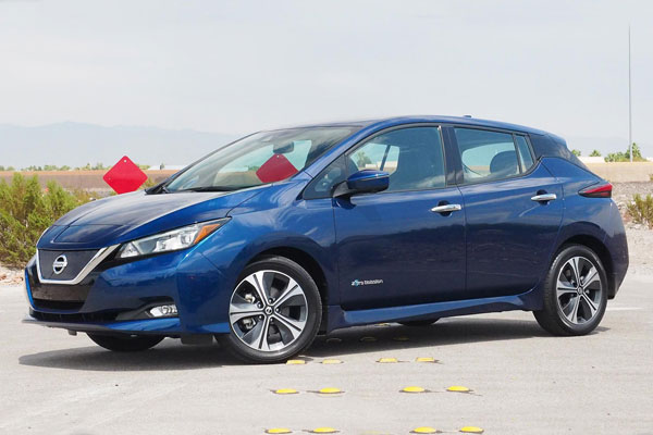 Nissan Leaf US car sales figures
