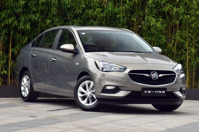 buick excelle china auto sales figures