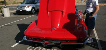 60's Corvette - Cars and Coffee Folsom