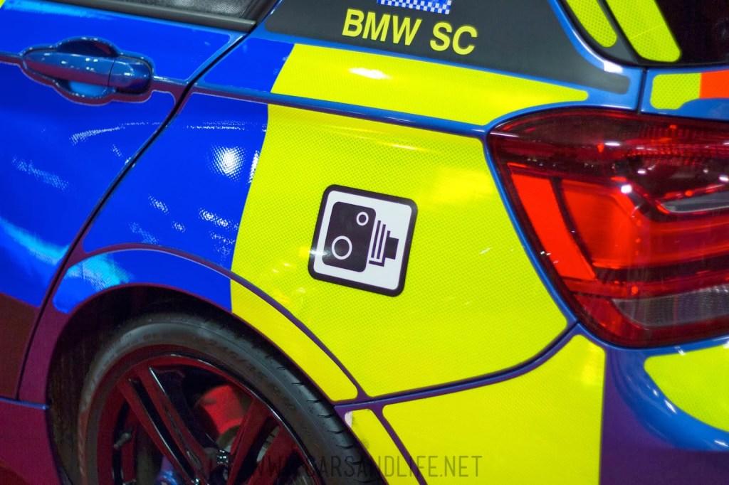 Autosport 2014 Police Cars McLaren BMW 18