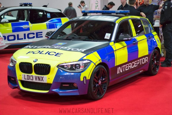 Autosport 2014 Police Cars McLaren BMW 8