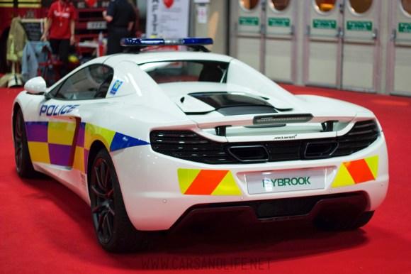 Autosport 2014 Police Cars McLaren BMW 9