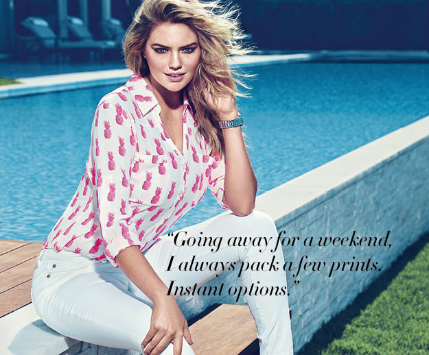Kate Upton Express Ad Campaign ss 2015 3