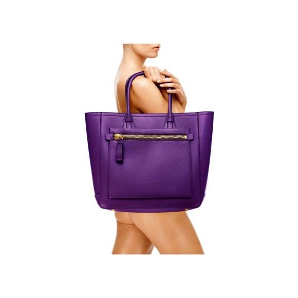 Tom Ford Tote Handbag Gloxinia