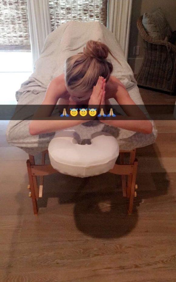 Charlotte McKinney Snapchat