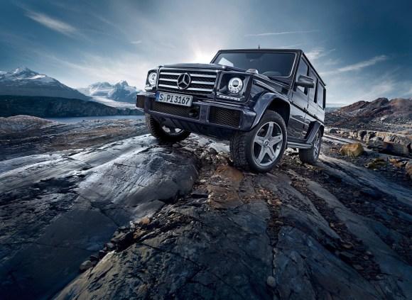 Mercedes-Benz G-Class (BR 463) 2015; G 500; Exterieur: obsidianschwarz metallic exterior:  obsidian black