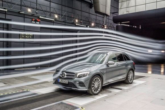 Mercedes-Benz GLC (X 253) 2015, Windkanal
