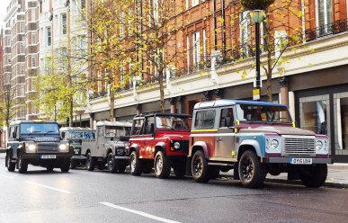 Land Rover Defender Taxi 21