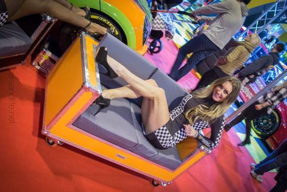 High Heels Model Lauren Autosport 2016 7