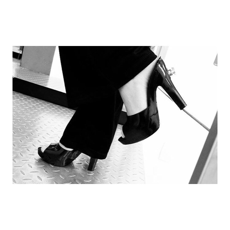 Melissa Jeremy Scott Inflatable High Heeled Mules