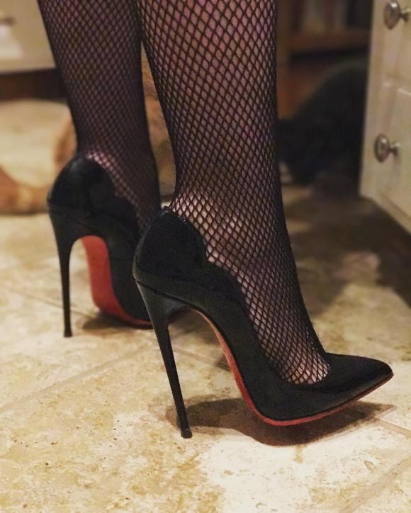 Christian Louboutin Hot Chick Heels 130mm