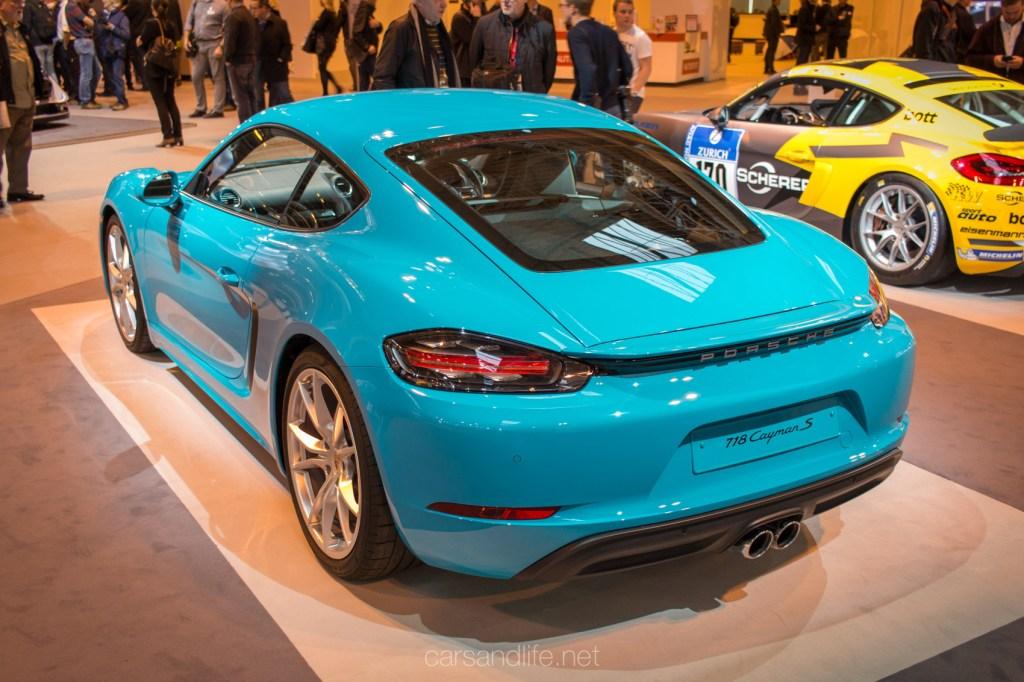 Autosport 2017 Porsche Cayman
