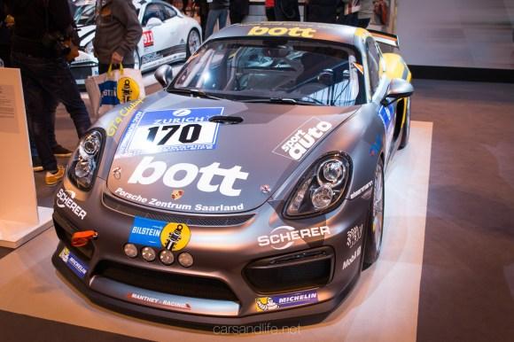 Autosport 2017 Porsche Cayman GT4